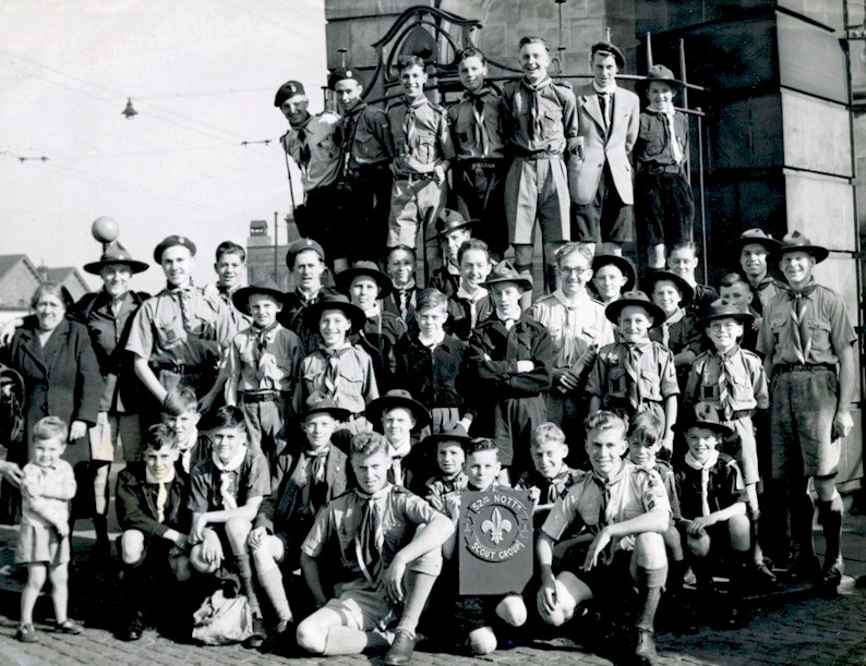 Scouts leave for camp