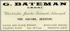 Bateman advert