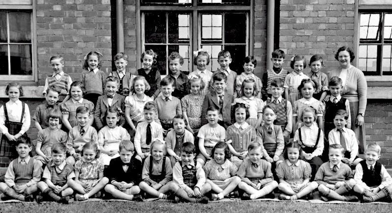 Beeston Fields Infants 1954