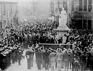 Boer War Memorial Unveiling