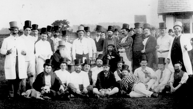 Cricket Match c1900