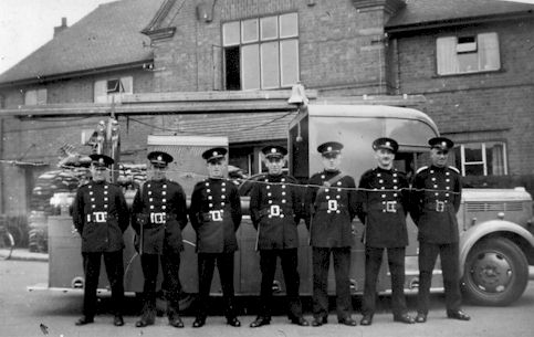 Beeston Fire Brigade WW2