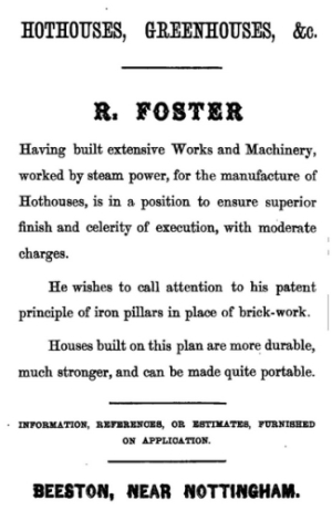 Foster advert