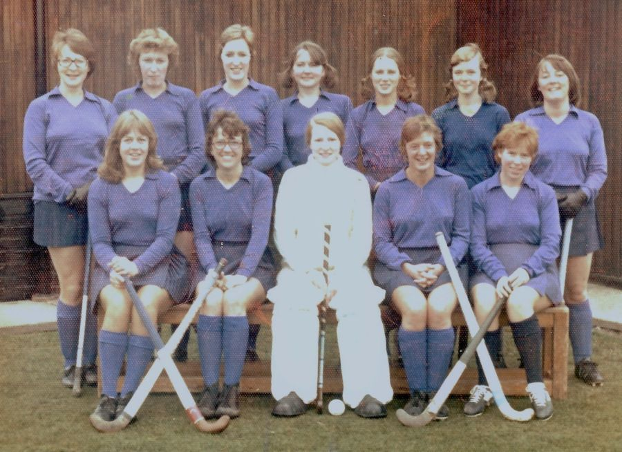 Plessey Ladies Hockey 1973