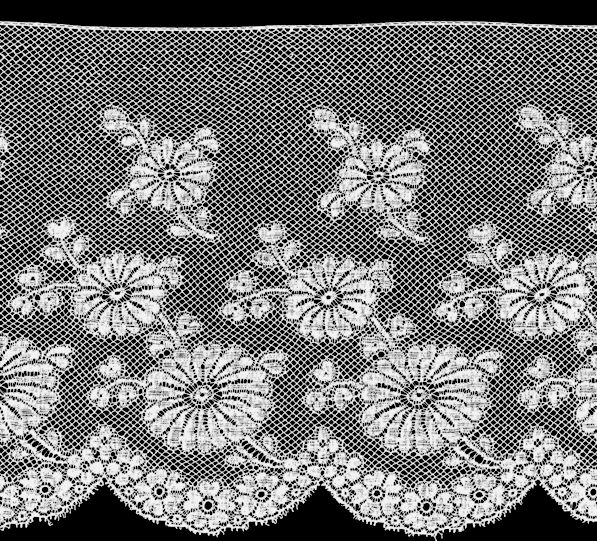 Typical 1880s lace